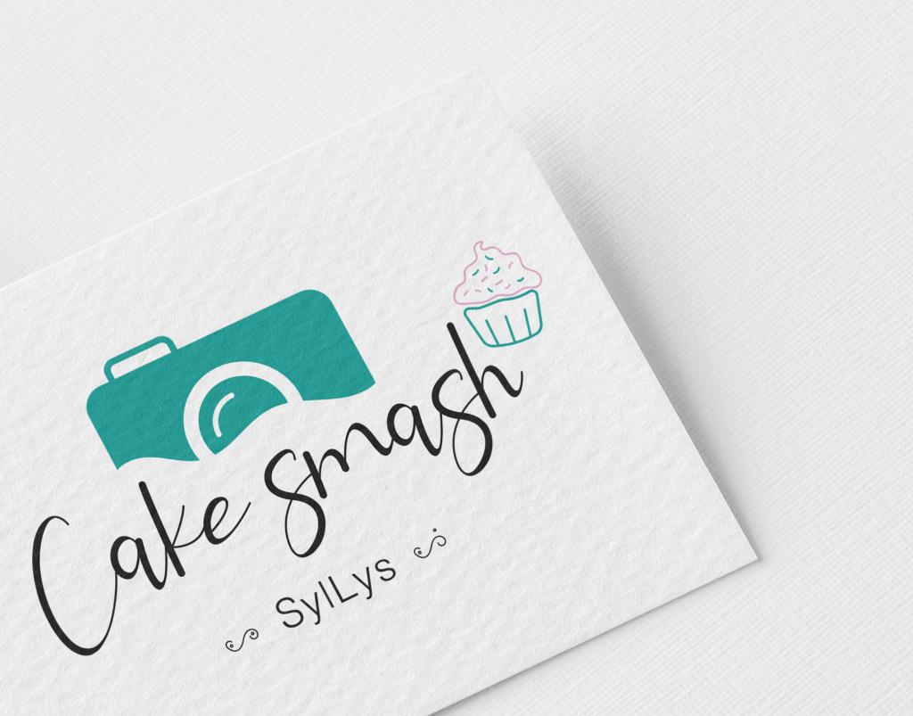 Logo Cake Smash Sylvia en Lysanne